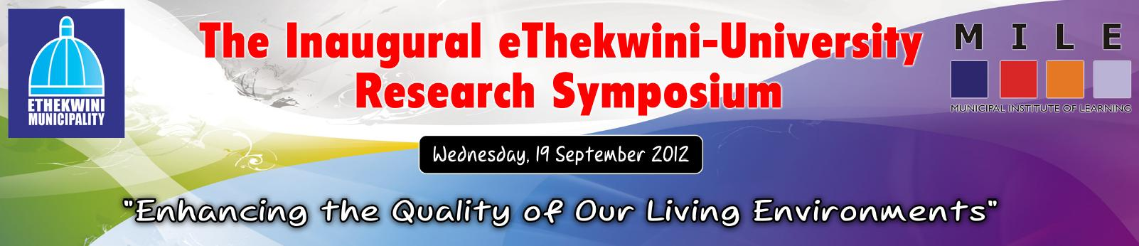 You are here: home / inaugural ethekwini-university research symposium